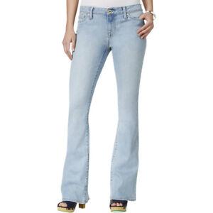 Tommy Hilfiger Jeans Light Wash FLARE Stretch W26 L34 AU8 US4 UK6 NEW Womens