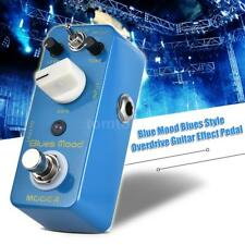 MOOER Blue Mood Blues Style Overdrive Guitar Effect Pedal 2 Mode Bright/Fat K9D6