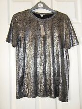 Ladies BNWT River Island Foil Style Top Size 10