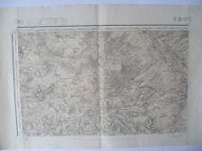 Carte d'État-Major Troyes Nord-Ouest 1896