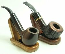 2 Pack Foldable  Wood Tobacco Pipe Stand Holder