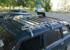 Vintage 1970's 1980's roof rack luggage long heavy wagon