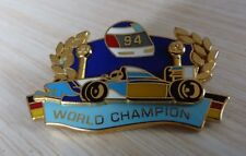 PIN'S F1 FORMULA ONE SCHUMACHER BENETTON WORLD CHAMPION 1994 PUB BITBUGER