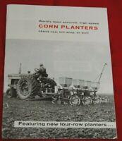 IH McCormick 2 4 6 Row Seed Planter Brochure 249 250 449A 450A 649 650 Farmall