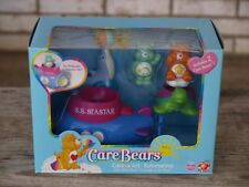 Care Bears Care-a-Lot Submarine S.S. Seastar Complete Playset New in Box 2003