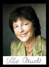 Ursula Schmidt AUTOGRAFO MAPPA ORIGINALE FIRMATO # BC 99078