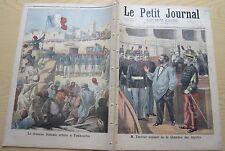 Le petit journal 1894 170 Manifestation des étudiants + roi du dahomey