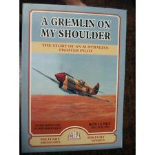 RAAF 260 Sqn 452 Sqn Spitfire Pilot History Kittyhawk Darwin Gremlin On SHoulder