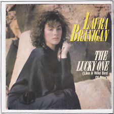 "LAURA BRANIGAN Vinyl 7"" 45 tours SP THE LUCKY ONE  RARE"