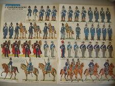 CORRIERE DEI PICCOLI N° 6 7/2/1965 CON FIGURINE I CARABINIERI DAL 1814 AL 1848