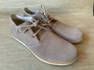 Skechers Men's Relaxed Fit Memory Foam Suede Lace Up Shoes, Size 10