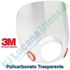 Schermo Vetro Calotta Ricambio 3M per Respiratore Serie 6000 Pieno Facciale 6898