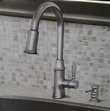 Moen Caris Spot Resist Stainless 1 Handle Pull Down Kitchen Faucet # 87402SRS