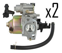 Genuine WAR TEC Carburettor Carb Fits HONDA GX140 GX160 GX 160 Pack Of 2