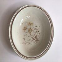 """Vintage Royal Doulton SANDSPRITE 10-5/8"""" Oval Vegetable Bowl Set Of Two"""