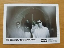 THE RUBY DARE 7x5 Black & White Press Promotional Photo Indie Punk Post Rock