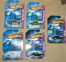 5x Hot Wheels - Red Line Nova, Pontiac, GTO Judge, Dodge Charger, Chevelle,