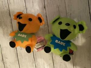 Gdb Grateful Dead Bear Set Of Stuffed Animals