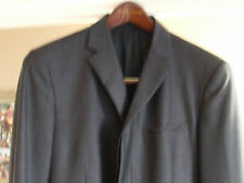 "100% Authentic Prada Mens Charcoal Grey / Black Dinner / Dress Jacket 43"" Chest"