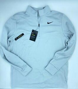 NIKE Essential Therma DriFit Half-Zip Golf Pullover AA3323-043 Mens Size Medium