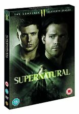 SUPERNATURAL SERIES 11 COMPLETE DVD BOX SET NEW UK RELEASE