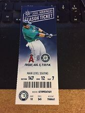 2016 Seattle Mariners Vs Los Angeles Angels Ticket Stub 8/5 Mike Trout Hr #159