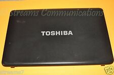 """TOSHIBA Satellite C655 C655D-S5234 15.6"""" Laptop LCD Back Cover Rear Lid"""