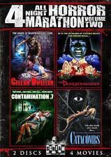 DUNGEONMASTER*CELLAR DWELLER*CONTAMINATION .7*CATACOMBS Cult Horror R1 DVD *NEW*