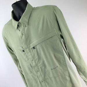 Simms Intruder Bicomp Long Sleeve Shirt Sagebrush Green Size Medium