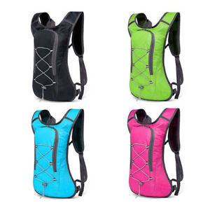 Sport Camping Running Hiking Cycling Hydration Backpack Bag + 2L Water Bladder