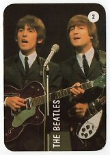 1992 Portugese Pocket Calendar Beatles John Lennon George Harrison