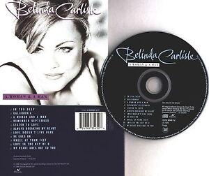 Belinda Carlisle A woman & a man CD Album 1996 Chrysalis UK wie neu Pop Rock