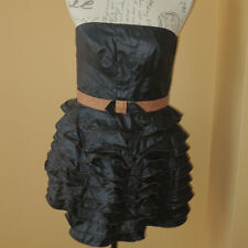 Manning Cartell Waxed Look Corset Dress. Size 12.RRP $ 649.00. New.