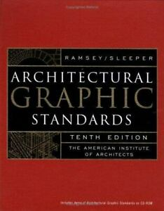 Architectural Graphic Standards, Tenth Edition , Hardcover , Hoke Jr., John Ray