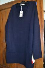 Women's classic Navy Jumper dress NEW Size 14