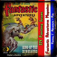 Fantastic Adventures Pulp Science Fiction, Fantasy, adventure, 114 issues