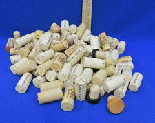 Wine Corks Lot of 116 Used Various Size Some w/ Cap Tops Crane Lake Ruffino