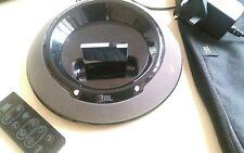 JBL On Stage IIIP 3 Black Speaker Dock  iPod iPhone  - With Bluetooth Wireless