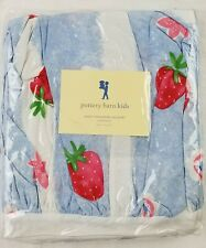 sweet strawberry bedskirt twin pottery barn kids decorative designer