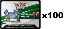 100 HIDDEN FATES Pokemon Booster Pack Online Code Cards - FAST EBAY DELIVERY