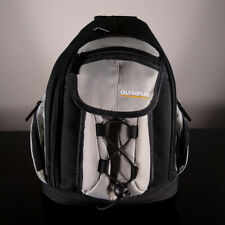 Mini Backpack Camera Bag Case for Olympus Cameras - Black & Gray
