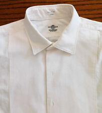 Vintage 1960s Marcella shirt Hornes of London Collar size 15.5 mens formal dress