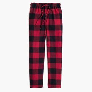 "J.Crew Mercantile flannel pants sleepwear Sz M -inseam 31""men's NWT $39.50"