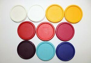 Tupperware Deckel 1607 (∅ ca. 9 cm) für runde Eidgenossen, Kompakt-System Ersatz