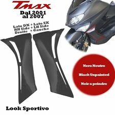 COUPLE OF SIDE FRONT FAIRING LH + RH TMAX 500 2001 al 2007 BLACK TO PAINT LEXUS