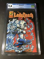 Lady Death 1/2 12/94 Chaos-Wizard CGC 9.8 NM/MT