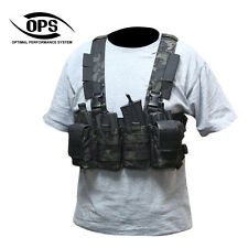 OPS/UR-TACTICAL EASY RIG (LIGHT-WEIGHT COMBAT CHEST RIG) IN CRYE MULTICAM BLACK