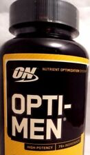 ON Optimum Nutrition Opti-Men High Potency Dietary Supplement - 90 Tablets