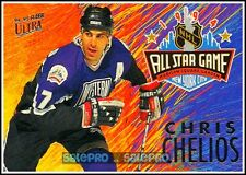 ULTRA FLEER 1994 CHRIS CHELIOS NHL ALL STAR MINT INSERT CARD #8/12