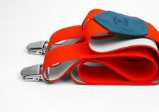Bretelles Larges Rouge Infrarouge - Les Bretelles de Léon